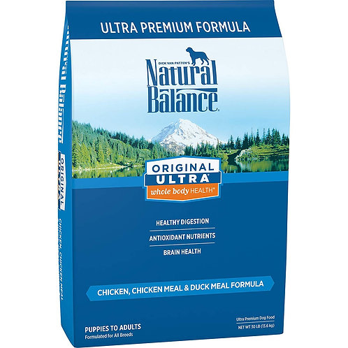 Natural Balance Original Ultra Whole Body Health Chicken, Chicken Meal & Duck