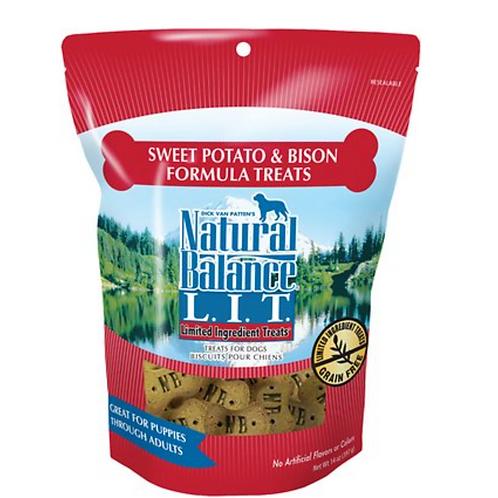 Natural Balance L.I.T. Sweet Potato & Bison Formula Treats