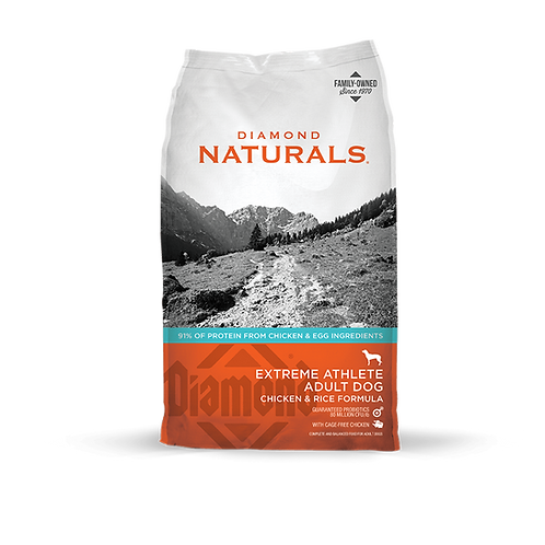 Diamond Naturals Extreme Athlete Chicken & Rice Formula Dry Dog Food