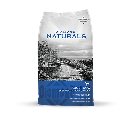 Diamond Naturals Beef Meal & Rice Adult Dry Dog Food