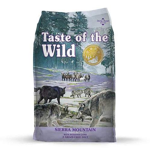Taste of the Wild Sierra Mountain Grain-Free Dry Dog Food