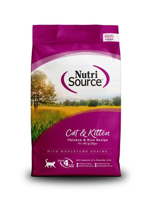 NutriSource Cat & Kitten Chicken & Rice Recipe