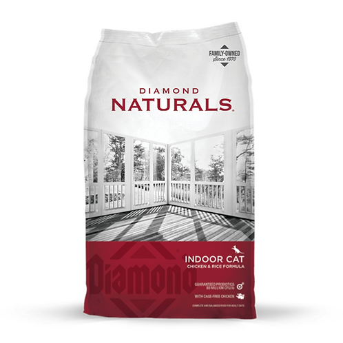 Diamond Naturals Indoor Cat Chicken & Rice Formula