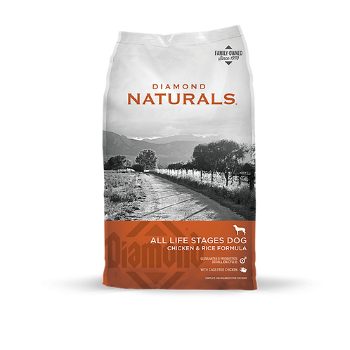 Diamond Naturals Chicken Meal & Rice Adult Dry Dog Food