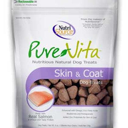 PureVita Skin & Coat Dog Treats