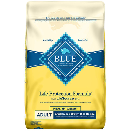 Blue Buffalo Life Protection Formula Healthy Weight Adult Chicken & Brown Rice