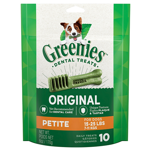 Greenies Petite Dental Dog Treats