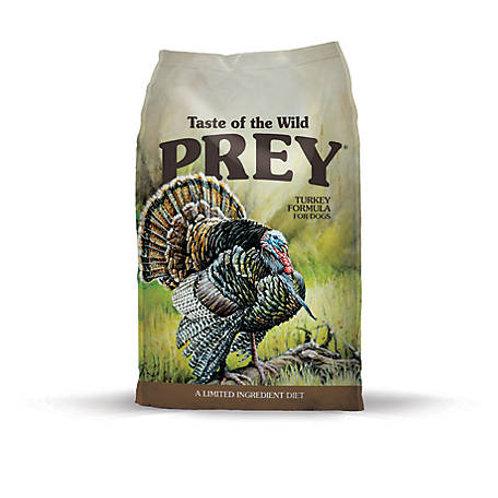 Taste of the Wild PREY Turkey Limited Ingredient Dry Dog Food