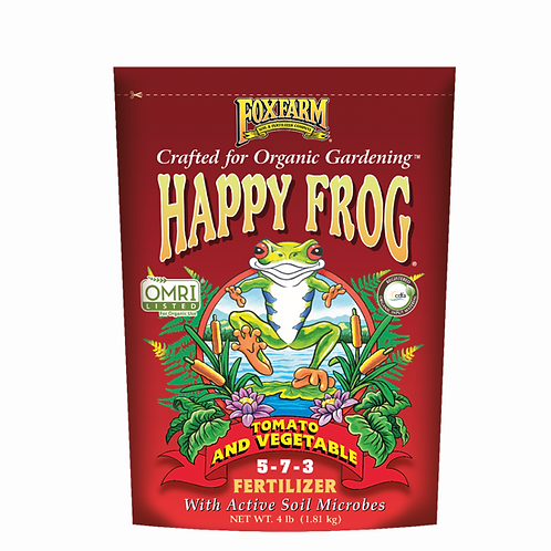 Happy Frog Tomato & Vegetable Fertilizer, 4lb