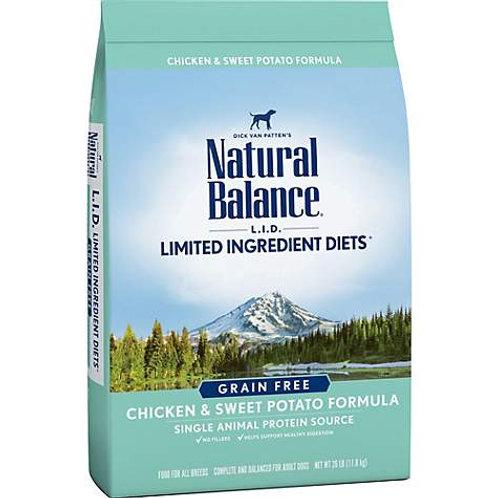 Natural Balance Limited Ingredient Diets Chicken & Sweet Potato Formula