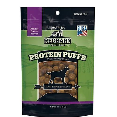 Redbarn Protein Puffs Peanut Butter Flavor Dog Treats