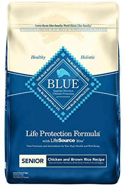 Blue Buffalo Life Protection Formula Senior Chicken & Brown Rice Recipe