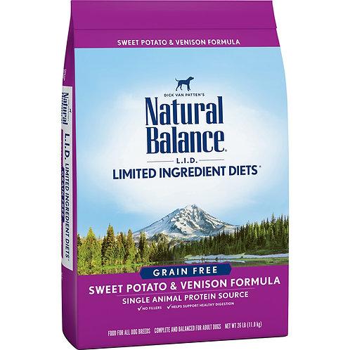Natural Balance Limited Ingredient Diets Sweet Potato & Venison Formula