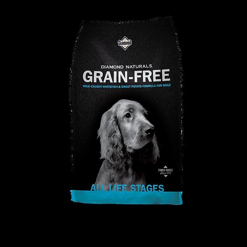Diamond Naturals Grain-Free Whitefish & Sweet Potato Formula Dry Dog Food