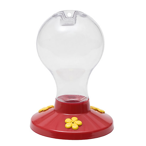 Perky-Pet® Clear Plastic Hummingbird Feeder - 16 oz Nectar Capacity
