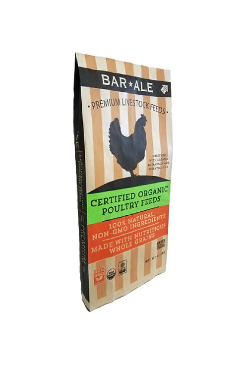 BAR-ALE Organic 17% Layer Pak Pellet