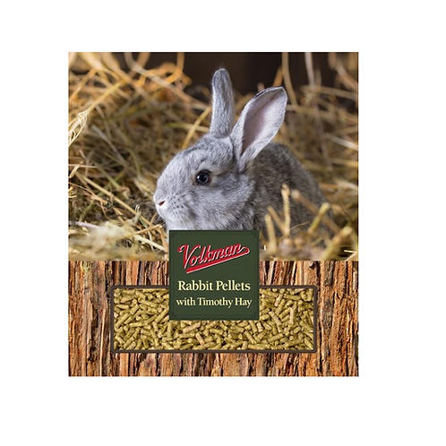 Volkman Rabbit Pellets with Timothy Hay