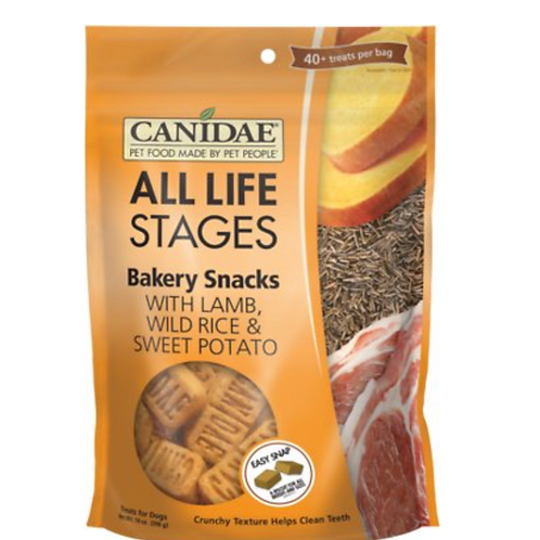 CANIDAE Life Stages Bakery Snacks with Lamb, Wild Rice & Sweet Potato Treats
