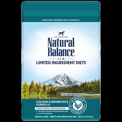 Natural Balance Limited Ingredient Diets Chicken & Brown Rice Formula