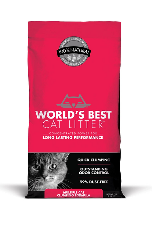 Worlds Best Multiple Cat Unscented Cat Litter
