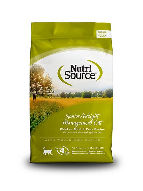 NutriSource Senior / Weight Management Cat Recipe