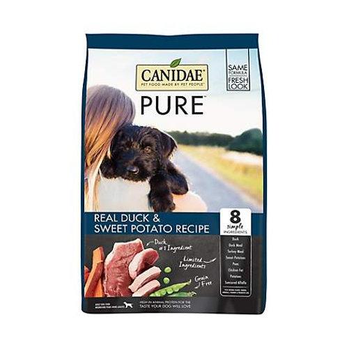 CANIDAE Grain-Free PURE Real Duck & Sweet Potato Recipe Dry Dog Food
