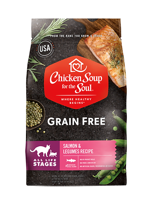 Chicken Soup for the Soul Grain Free Cat Food - Salmon & Legumes