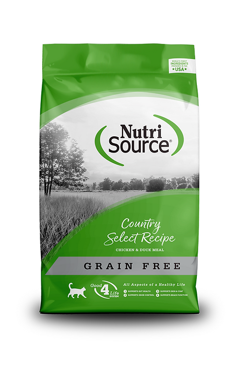 NutriSource Grain Free Country Select Entrée