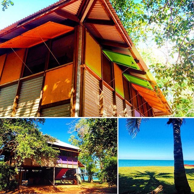 Makhills Beach House at Dundee Beach near Darwin - a great tropical family friendly beach house.