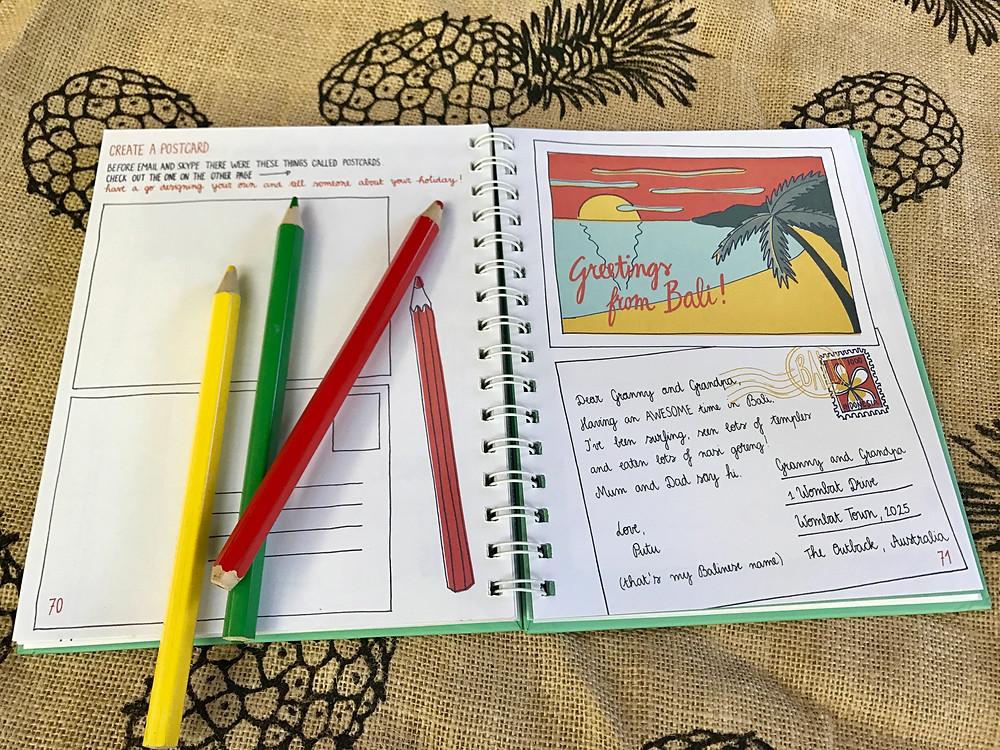 Bali Kids Travel Book