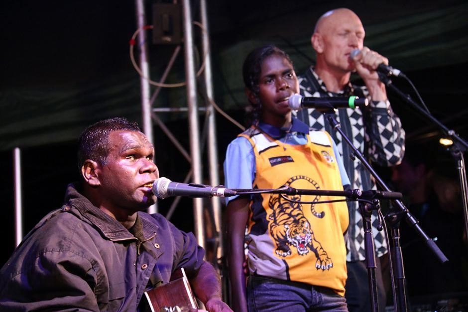 Barunga Aboriginal Festival - singers