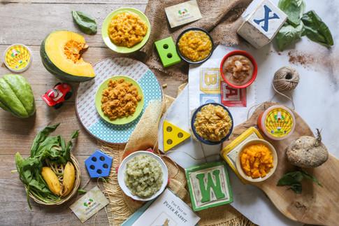 MINI MUNCHER: ORGANIC BABY FOOD - BALI