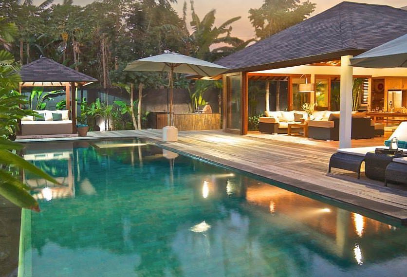 The Sea Shanty Villa in Jimbaran, Bali