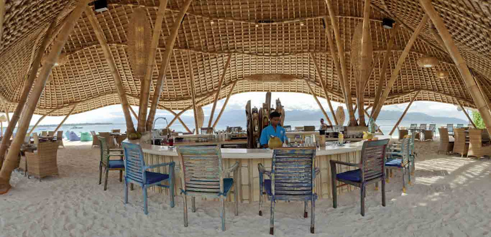 The Pearl Lounge Beach Bar, Gili Trawangan Island, Lombok