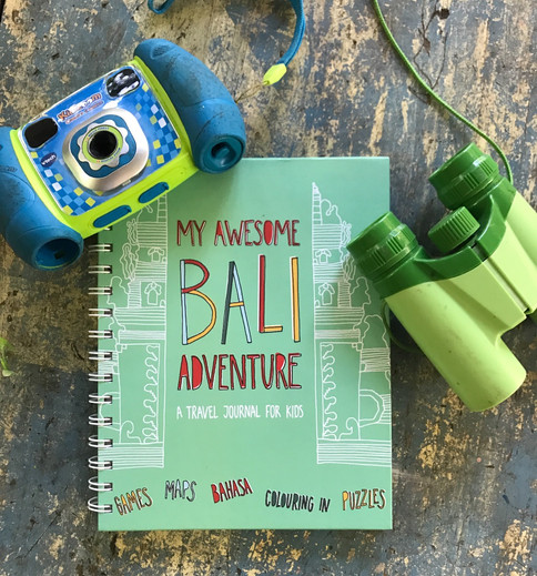 "THE MOST ""AWESOME"" KIDS INTERACTIVE JOURNAL FOR BALI!"