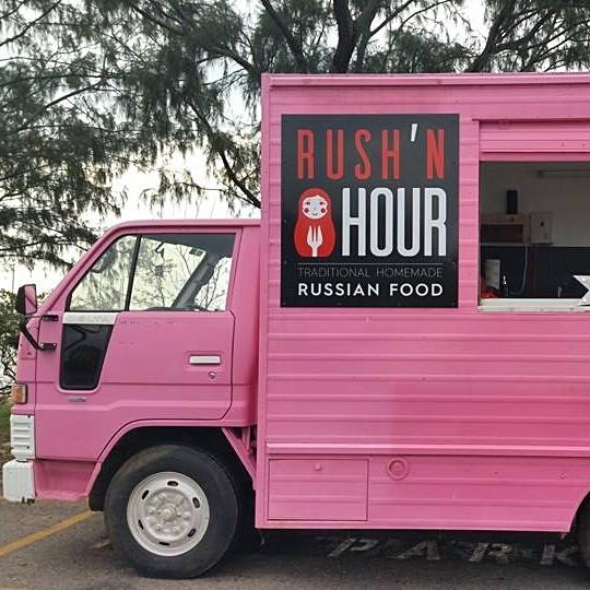 The Rush'n Hour Food Truck in Darwin