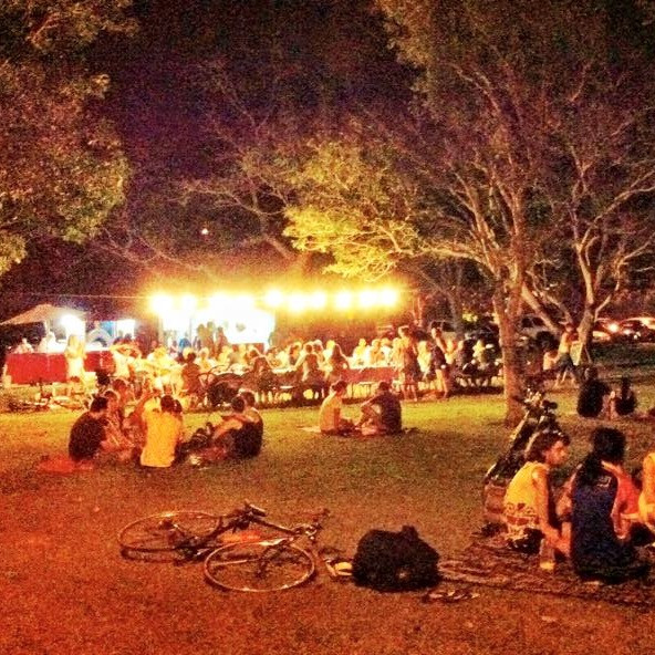 Family friendly outdoor restaurant, Darwin with kids