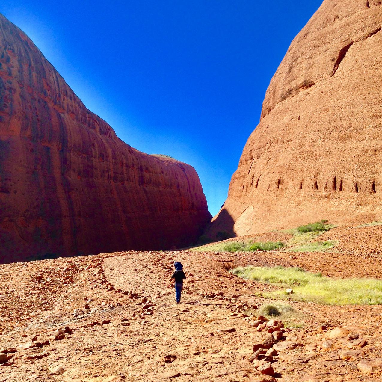 Uluru - Walpa Gorge Kata Tjuta