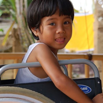 Little boy, Kupu Kupu Foundation
