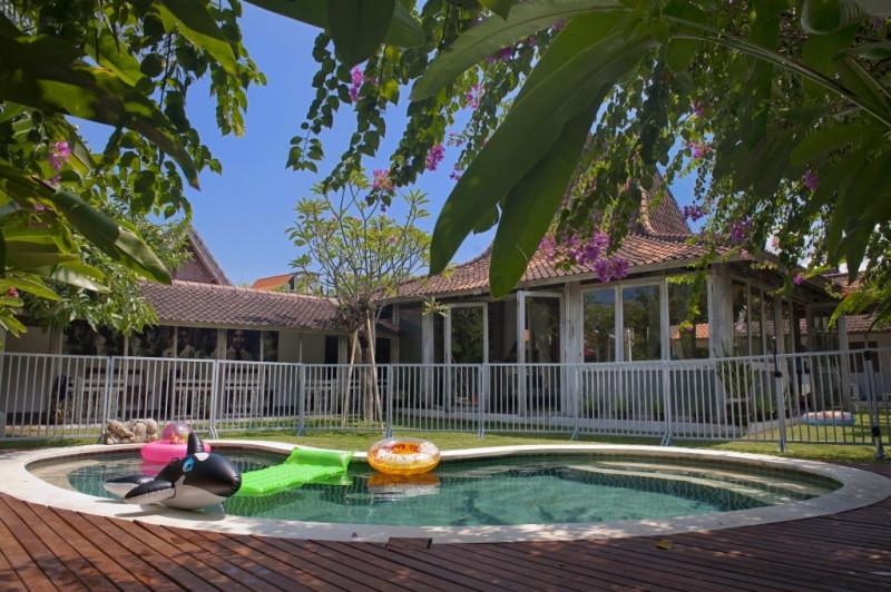 Bali Pool Fence