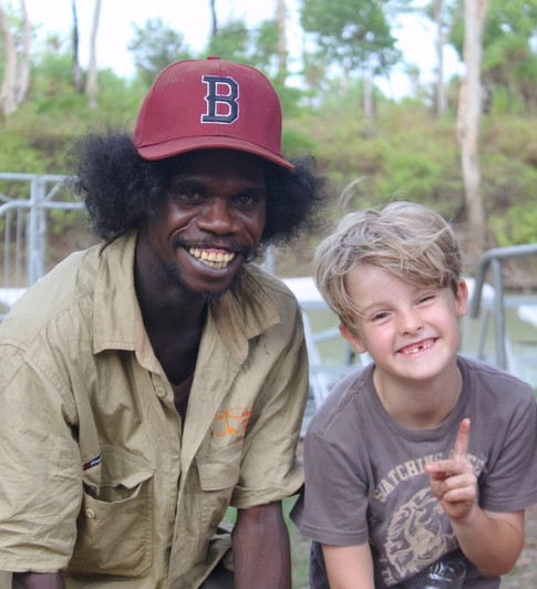 KAKADU WITH KIDS - ABORIGINAL CULTURAL BOAT TOUR