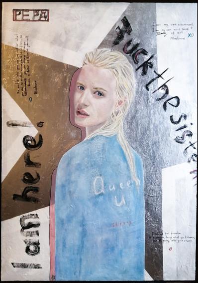 Julia, 105x75 cm., 2020