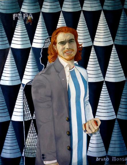 Bruno Monso, 100x80 cm., 2014