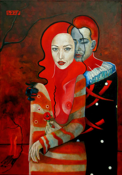 The Kiss, 100х70 см., 2013