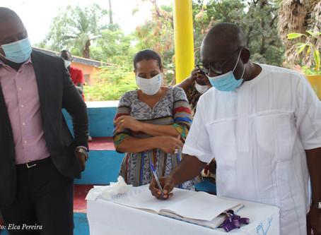 Um feliz aniversário da independência guineense para as crianças da Aldeia SOS de Bissau