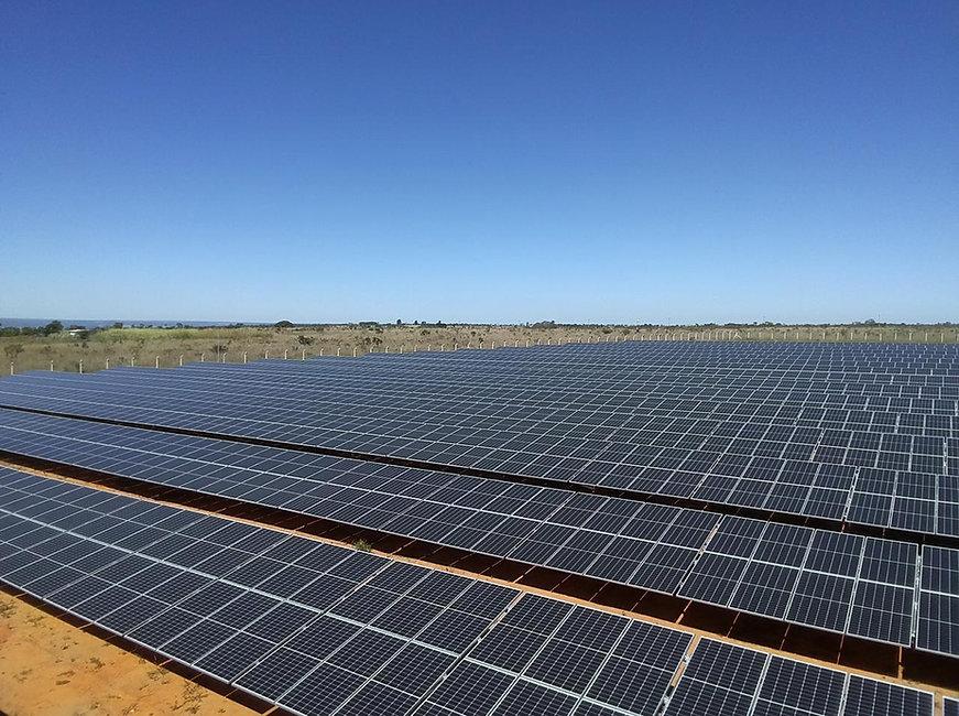 Usina Solar Fotovoltaica de Solo
