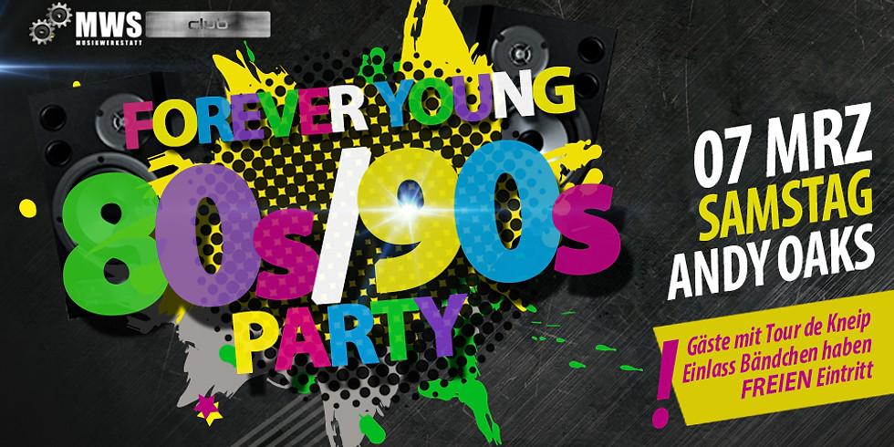 Forever Young - DIE 80er/90er Party