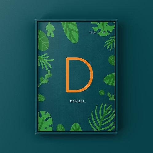 Jungle Dino Alphabet