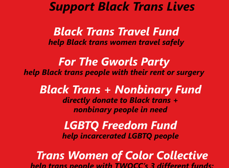 5 Organizations to support Black Trans Lives
