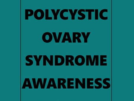 National Polycystic Ovary Syndrome Awareness Month